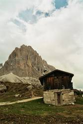 Sella Hut Front