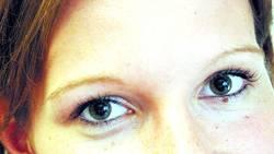 Augenlächeln
