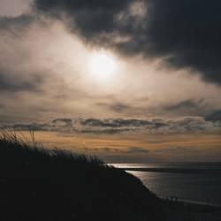 Abendsonne trifft Nordsee