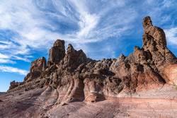 Felsformationen, Roques de Garcia, Teide, Teneriffa
