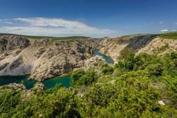 Zrmanja-Cayon in Kroatien (4)