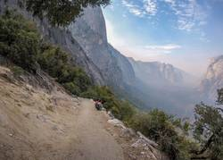 Yosemite National Park hiking trail