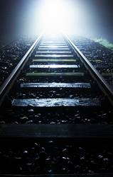 oncoming... | train tracks