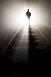 vergehen   train tracks