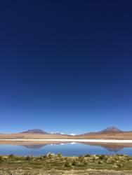 Langune in Bolivien