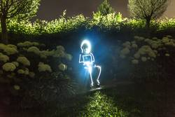 Glowing Man