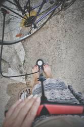 fahrrad aufpumpen