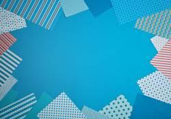 briefpapier (blau)