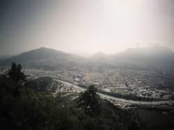 Blick auf Trient (Trento) Italien