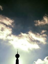 Der Zeiger in den Himmel
