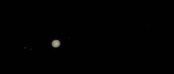 Jupiter mit Galileischen Monden