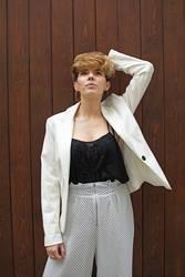 Portrait of fashion woman