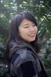 Asiatisches Mädchen Lächeln