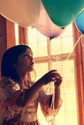 In jedem Ballon ein Kindertraum, halt sie fest!