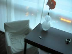 neonlicht im hotel