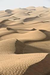 Early morning light-shifting dunes-TaklaMakan-Xinjiang-China-367