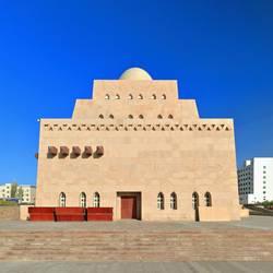 Domed building of New Loulan Museum-Ruoqiang-Xinjiang-China-0403