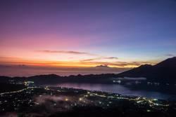 Sonnenaufgang auf dem Batur