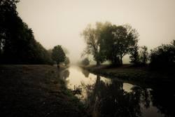 Nidda im Nebel
