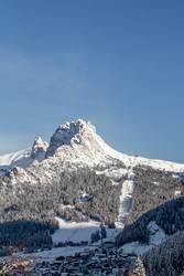 Die Cirspitzen in den Dolomiten