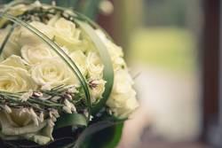 Brautstrauß aus Rosen 1