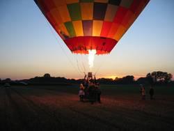 Ende einer Ballonfahrt