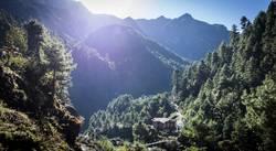 Phakding in Nepal