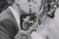 kiss the newlyweds and kiss the couple in love
