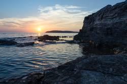 Sonnenuntergeng am Meer