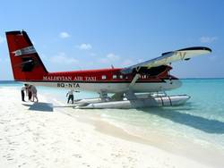 Wasserflugzeug auf Fesdu