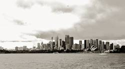 Sydney-dark clouds