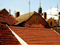 Die Dächer Tschechiens
