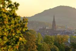 Freiburg im goldenen Oktober