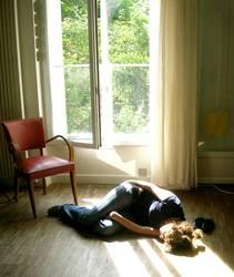 Nachmittagsschläfchen in Montmartre