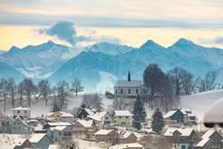 Schweiz im Winterschlaf