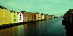 Trondheim steht auf Stelzen