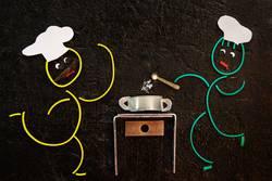 Gummiwürmer: Suppe versalzen