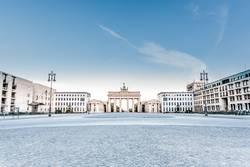 Brandenburger Tor am früher Morgen