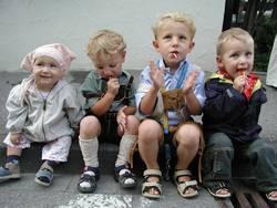 Die 4 Straßenkinder