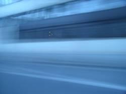 blaue Strasse weiter