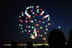 Bokeh Feuerwerk