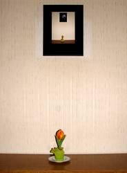 Kleine Tulpe