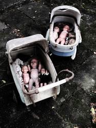 Puppen ausfahren gehen