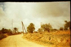 Sraße in Tunesien