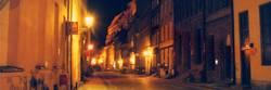 Nachtimpression einer Straße