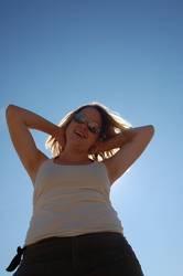 Sonne im Nacken