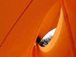 orange tent 2