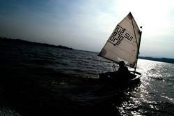 davon segeln