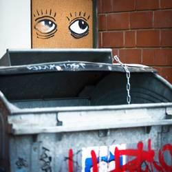 Große Klappe, Müllschlucker