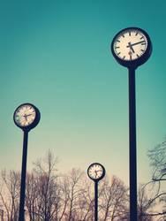 Zeit am Stiel